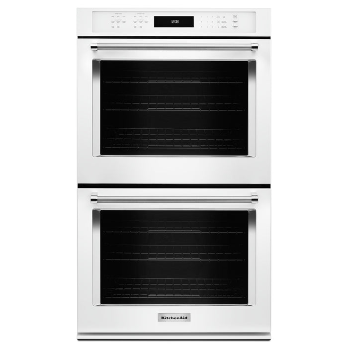 "KitchenAid 27"" Double Wall Oven with Even-Heat True Convection"