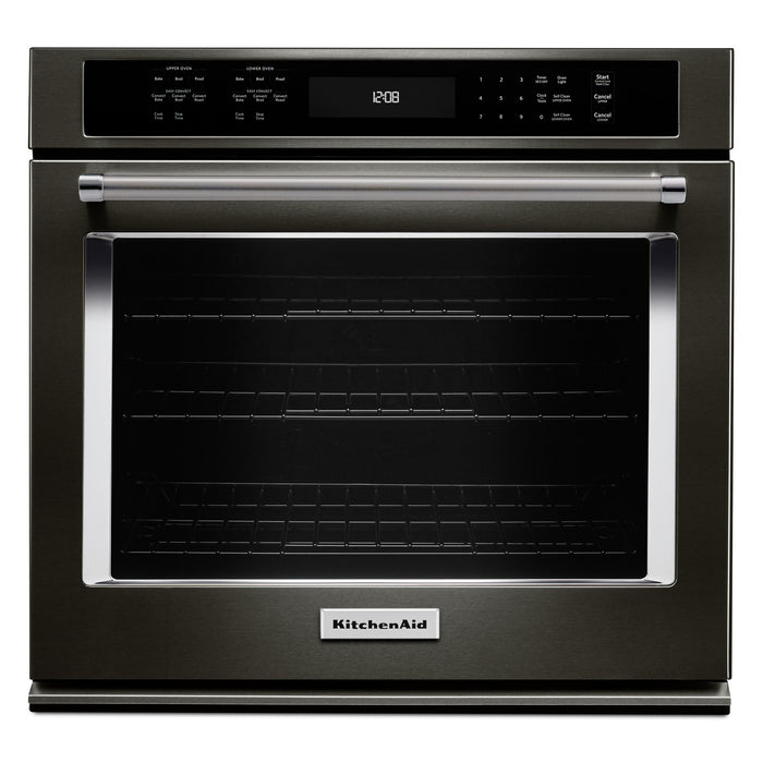 "KitchenAid 27"" Single Wall Oven with Even-Heat True Convection"