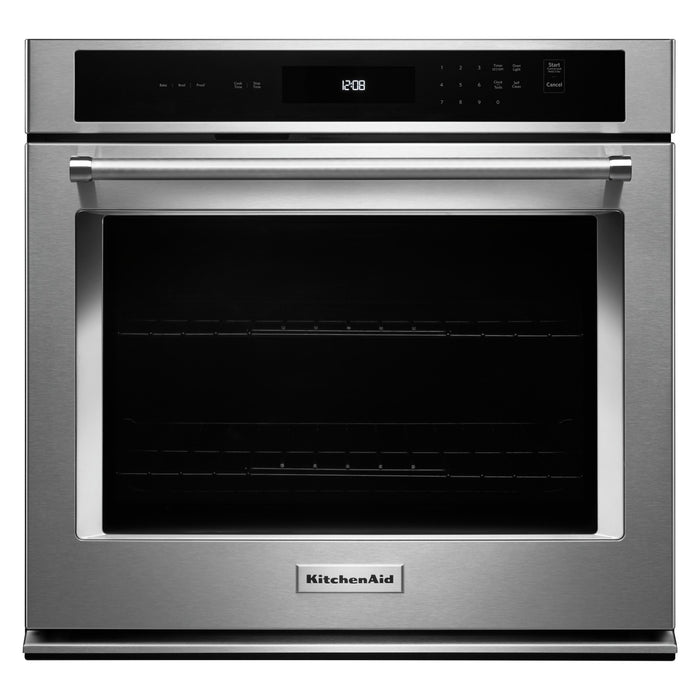 "KitchenAid 27"" Single Wall Oven with Even-Heat Thermal Bake/Broil"