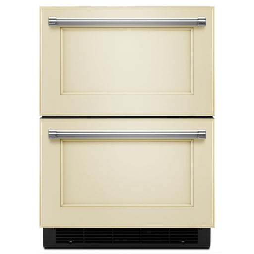 "KitchenAid24"" Panel Ready Double Refrigerator Drawer"