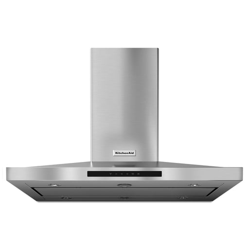 "KitchenAid 42"" Island-Mount, 3-Speed Canopy Hood"