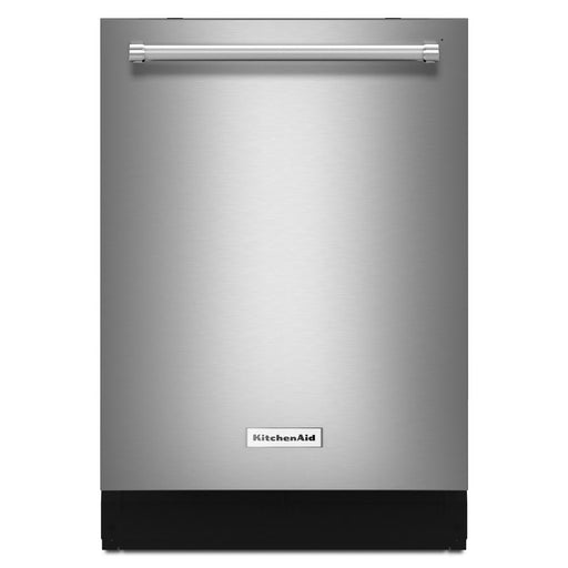 KitchenAid KDTE204GPS Built-In Dishwasher in PrintShield Stainless with Stainless Steel Tub and Bottle Wash Option, 46 dBA