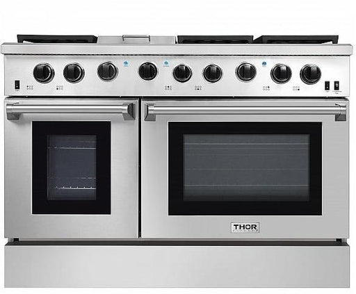 Thor 48 Inch Gas Range 2 Oven 6 Burners n Griddle - LRG4801U