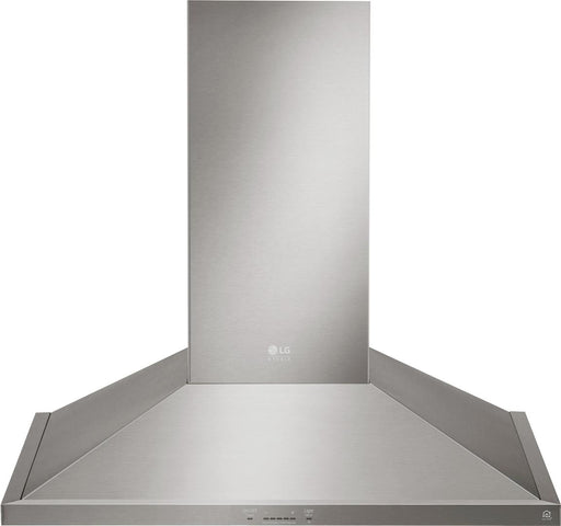 LG LSHD3080ST 30 Inch Smart Wall Mount Range Hood with Light And Wi-Fi Enabled In Stainless Steel