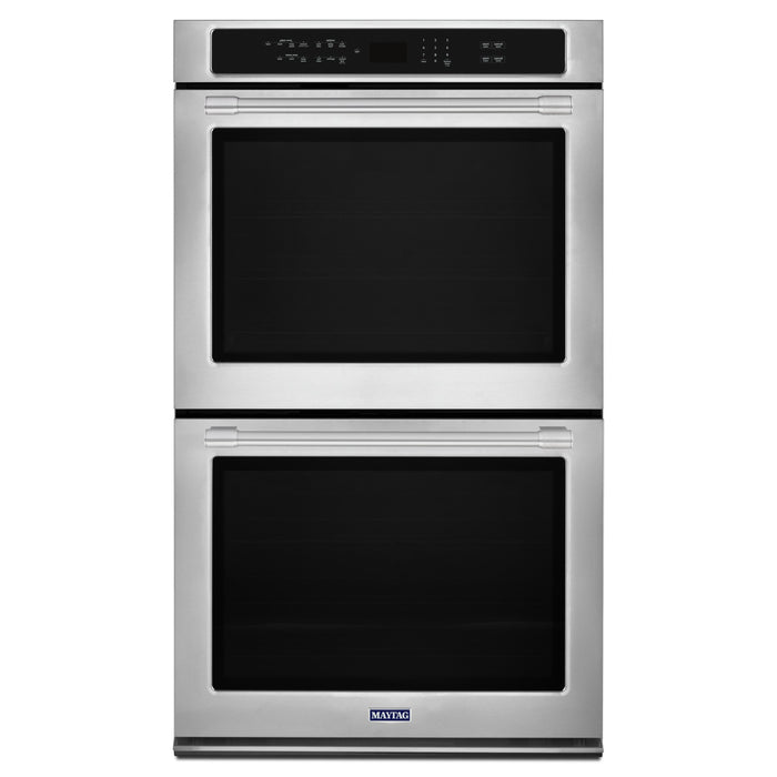 Maytag 27-INCH WIDE DOUBLE WALL OVEN WITH TRUE CONVECTION - 8.6 CU. FT.