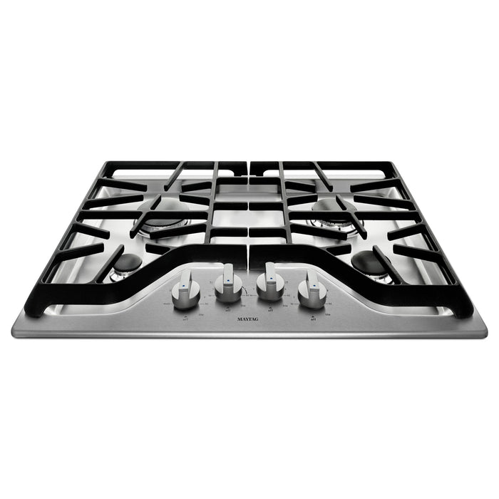 Maytag 30-inch 4-burner Gas Cooktop with Power Burner