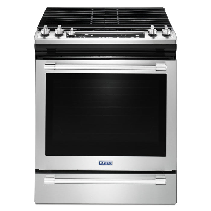 Maytag 30-INCH WIDE GAS RANGE WITH TRUE CONVECTION AND MAX CAPACITY RACK - 5.8 CU. FT.