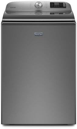Maytag 6.0 cu. ft. Smart Top Load Washer with 7.4 cu.ft. Electric Dryer in Metallic Slate