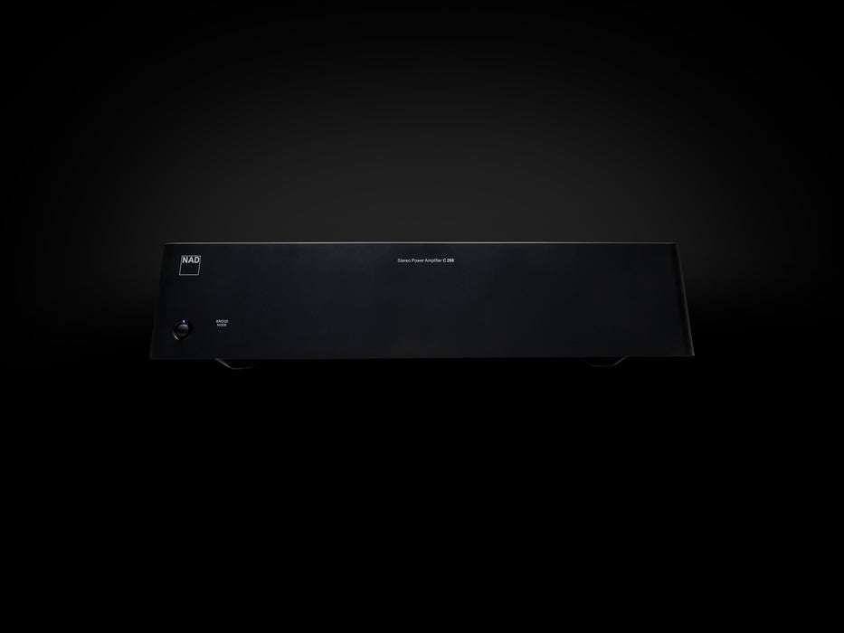 NAD C 268 Power Amplifier - A V Components - NAD Electronics - Topchoice Electronics