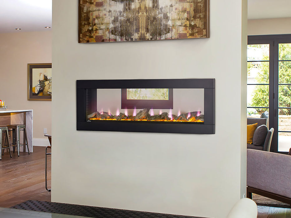 Napoleon NEFBD50H Electric Fire place CLEARion 50 inch See Thru - Black - Fireplace - Napoleon - Topchoice Electronics
