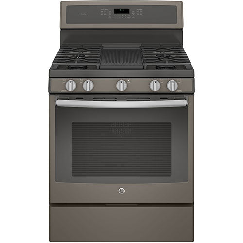 "GE 30"" Free-Standing Gas Convection Self Cleaning Gas Range - Range - GE - Topchoice Electronics"