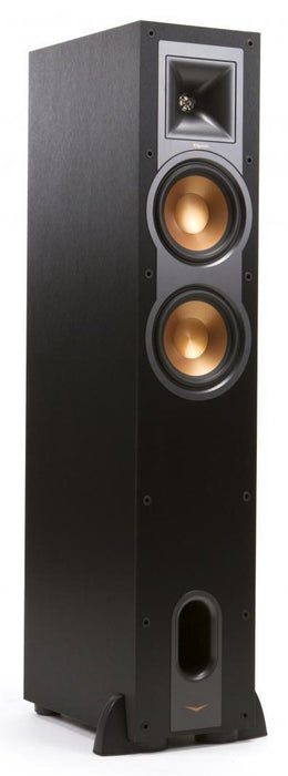 Klipsch Reference 26 Black Tower Speaker dual 6 inch - Speakers - Klipsch - Topchoice Electronics