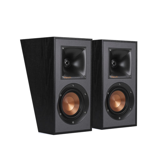 Klipsch R-41SA Dolby Atmos Elevation / Surround Speaker In Black (Pair)