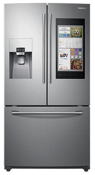 Samsung 24.2 cu. ft French Door with Family Hub - RF265BEAE