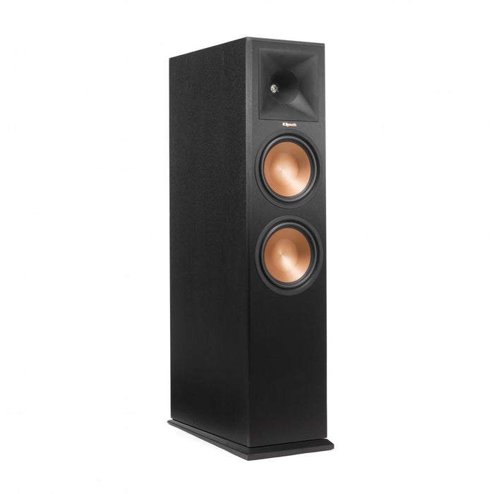 "Klipsch Reference Premier Dual 8"" Floorstander with Atmos Module Vinyl - Speakers - Klipsch - Topchoice Electronics"