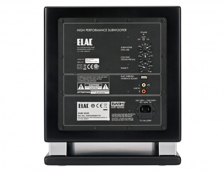ELAC LINE 2000 SUBWOOFERS - SUB2030 (Each)- Special Order - Speakers - ELAC - Topchoice Electronics