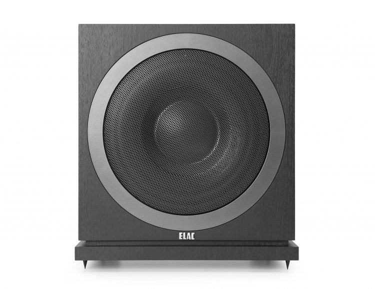 "ELAC LINE 3000 SUBWOOFERS 10"" 400 Watt Subwoofer with Auto Room EQ - Black - SUB3010-BK (Each) - Special Order - Speakers - ELAC - Topchoice Electronics"