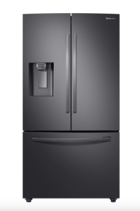 Samsung RF23R6201SG/AA French Door Refrigerator with Twin Cooling Plus in Black stainless steel