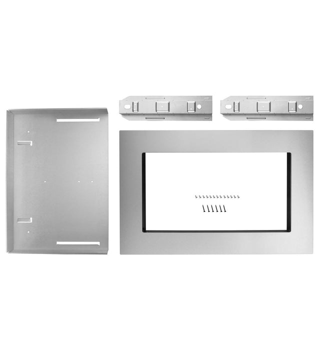 "KitchenAid MK2160AS 30"" Trim Kit for 1.6 cu. ft. Countertop Microwave Oven - Stainless Steel - Accessories - KitchenAid - Topchoice Electronics"