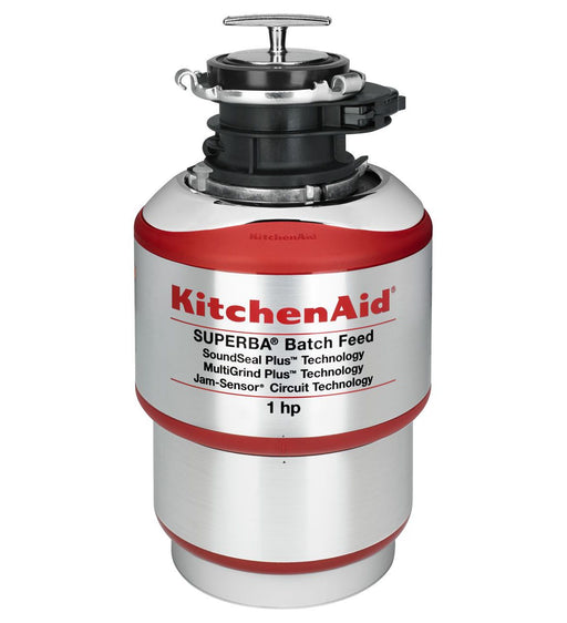 KitchenAid KBDS100T 1-Horsepower Batch Feed Food Waste Disposer - Dishwasher - KitchenAid - Topchoice Electronics