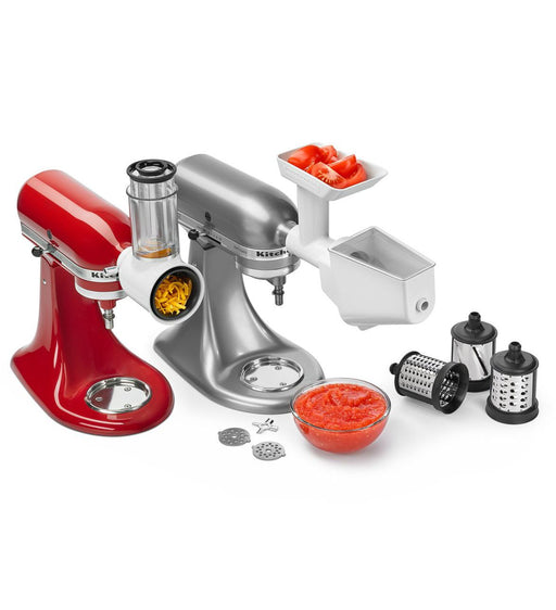 KitchenAid KSMFPPA Slicer Shredder Grinder Strainer Attachment Pack - Attachments - KitchenAid - Topchoice Electronics