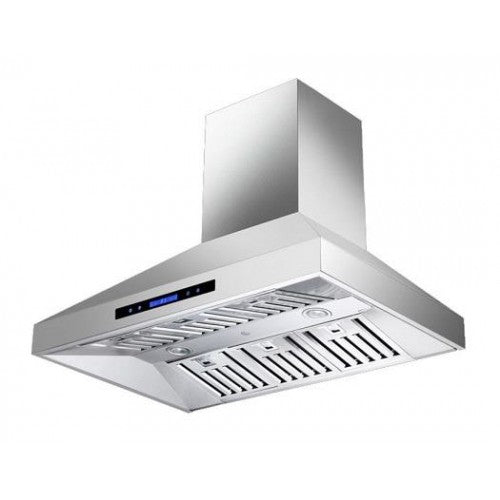 MaxAir Wall Mounted 30 inch Range Hood with Chimney - Range Hood - MaxAir - Topchoice Electronics