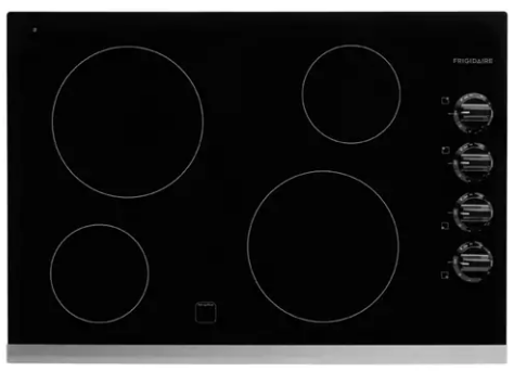 Frigidaire FFEC3024PS 30'' Electric Cooktop - Stainless Steel - Cooktop - Frigidaire - Topchoice Electronics