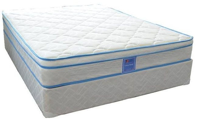 Ultra Sleep High Profile Coil Mattress with Euro Top by Divine Sleep