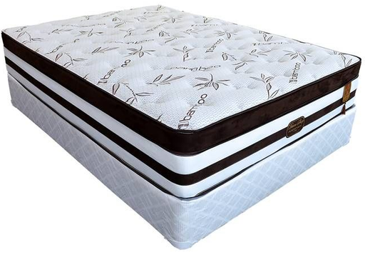 Perfection 13-Inch Quantum Tri-Zone Pocket Coil Mattress by Divine Sleep