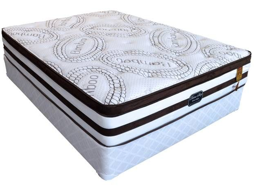 Pro-Bac Tri-Zoned Pocket Coil with Gel Memory Foam Mattress by Divine Sleep