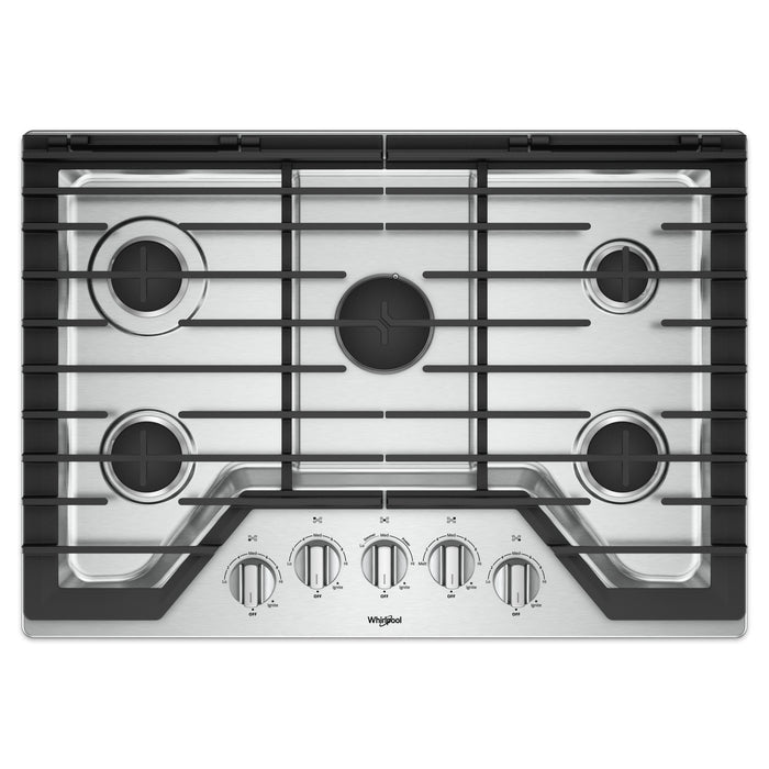 Whirlpool 30-inch Gas Cooktop with Griddle