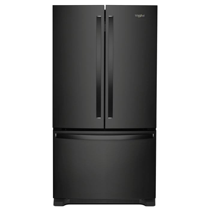 Whirlpool 36-inch Wide Counter Depth French Door Refrigerator - 20 cu. ft.