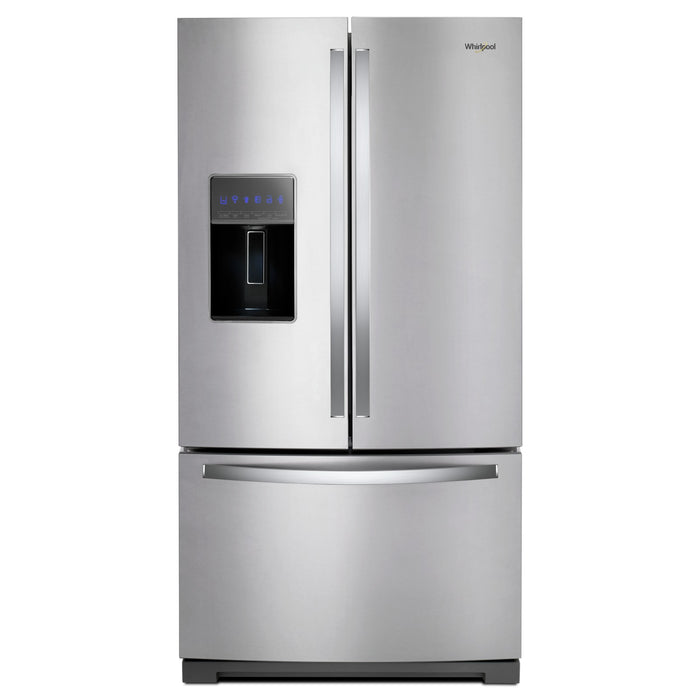 Whirlpool 36-inch Wide French Door Refrigerator - 27 cu. ft.