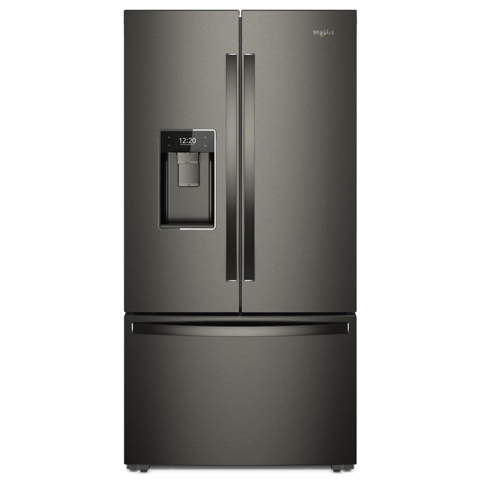 Whirlpool 36-inch Wide Smart Counter Depth French Door-within-Door Refrigerator - 24 cu. ft.