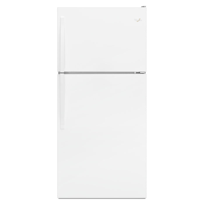 "Whirlpool 30"" Wide Top-Freezer Refrigerator with Flexi-Slide Bin"