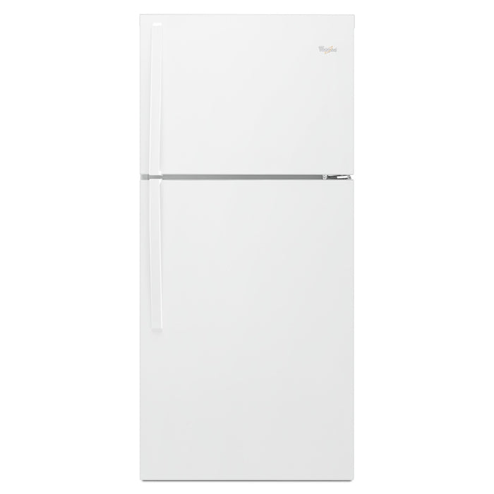 Whirlpool 30-inch Wide Top-Freezer Refrigerator - EZ Connect Icemaker Kit Compatible - 19.2 cu. ft.