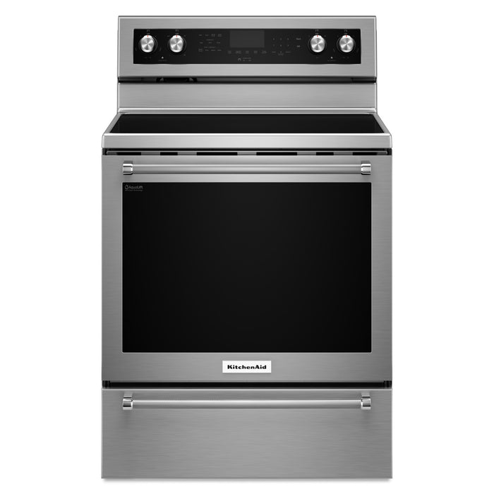 KitchenAid 30-Inch 5-Element Electric Convection Range