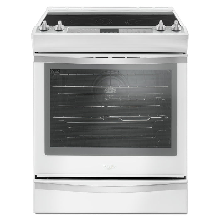 Whirlpool 6.4 Cu. Ft. Front Control Electric Range with True Convection