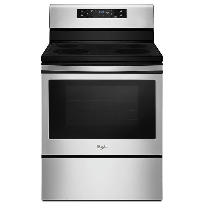 Whirlpool 5.3 cu. ft. guided Electric Freestanding Range with fan convection cooking