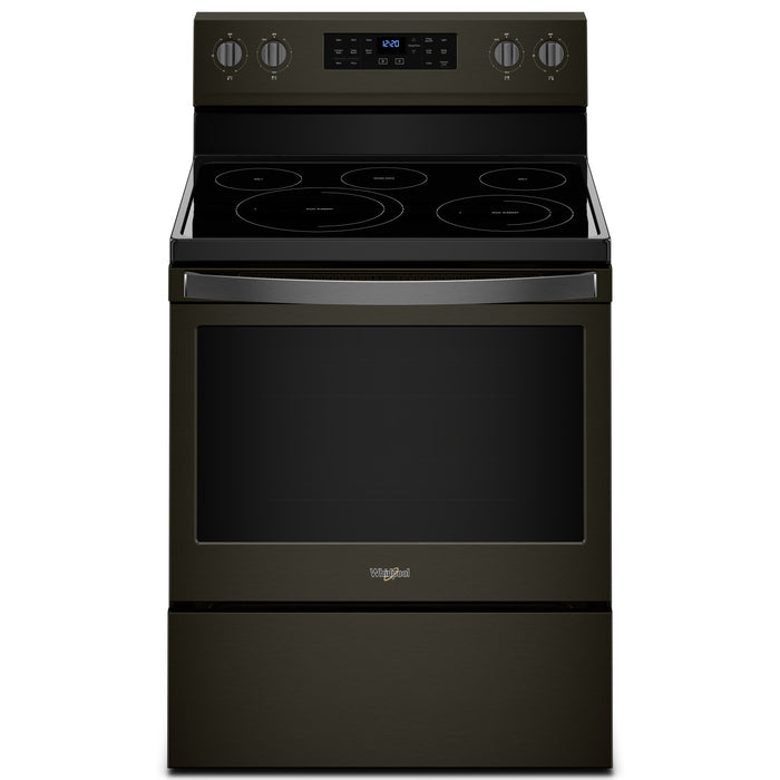 Whirlpool 5.3 cu. ft. Freestanding Electric Range with Fan Convection Cooking
