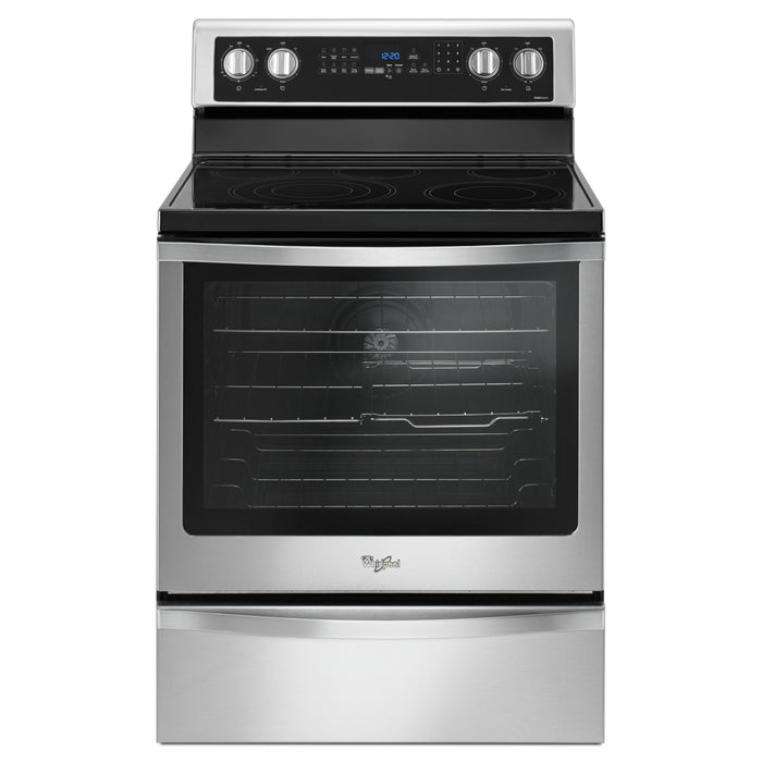 Whirlpool 6.4 Cu. Ft. Freestanding Electric Range with True Convection