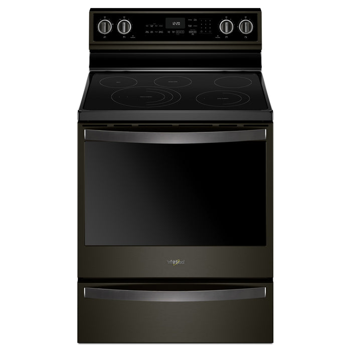 Whirlpool 30-inch,6.4 cu ft, Electric Freestanding Range with 5 Elements