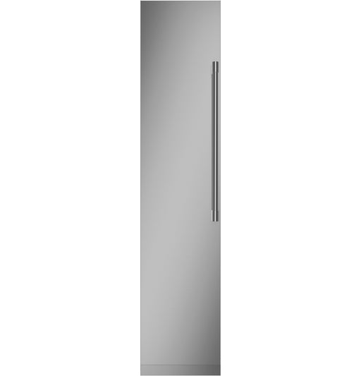"Monogram ZIF181NPNII 18"" Smart Integrated Built-In Column Freezer In Stainless steel"