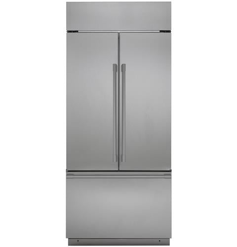 "Monogram ZIPS360NNSS 36"" Built-In French-Door Refrigerator In Stainless Steel"