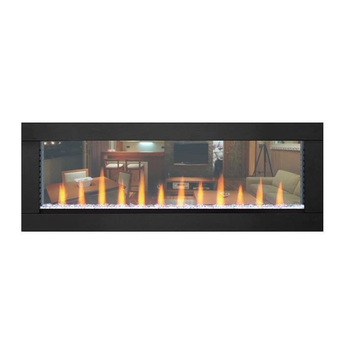 Napoleon 50 inch Trim for Clearion Fireplace painted in Black - NEFBD50H-DTRM