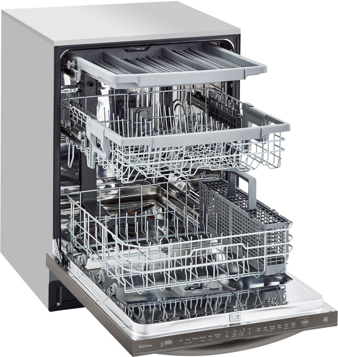 LG LDT5678BD Top Control Smart Wi-Fi Enabled Dishwasher With QuadWash in Black Stainless Steel