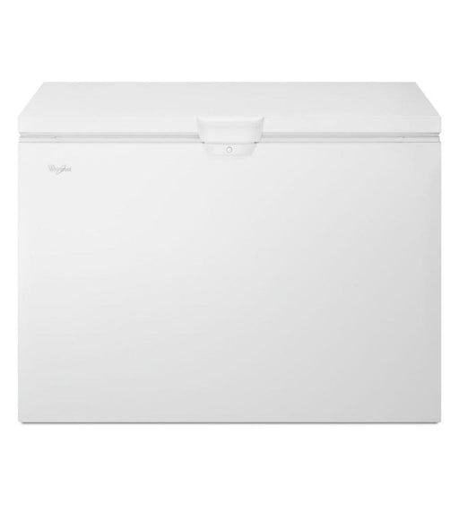 Whirlpool WZC3115DW 8-Inch 15 Cube Feet Chest Freezer with Manual Defrost and Key Lock In White