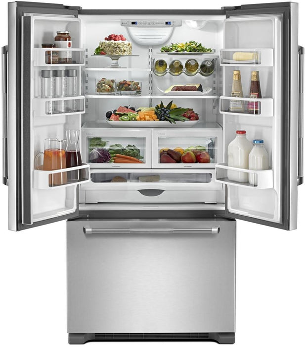 "Jenn-Air JFC2290REP 72"" Counter Depth French Door Refrigerator - Pro Style Stainless Steel handle - Refrigerator - Jenn-Air - Topchoice Electronics"