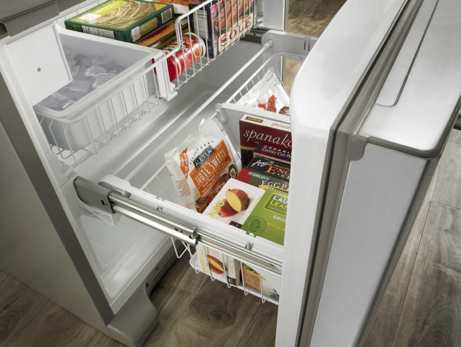 "Jenn-Air JFC2089BEP 69"" Counter-Depth, French Door Refrigerator with Internal Water/Ice Dispensers - Pro style Stainless Steel - Refrigerator - Jenn-Air - Topchoice Electronics"