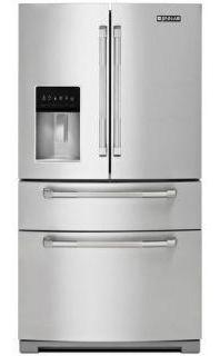 "Jenn-Air JFX2897DRP 69"" Standard-Depth French Door Refrigerator - Pro Style Stainless Steel handle - Refrigerator - Jenn-Air - Topchoice Electronics"